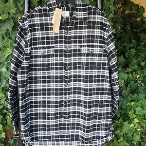 JACHS Flannel Long Sleeve Sz XLT NWT